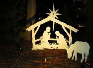 About Us, Nativity Scene Outdoor