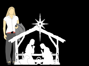 Large Size Nativity Set, Nativity Scene Outdoor