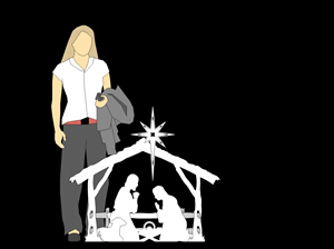 Medium Size Outdoor Nativity Set, Nativity Scene Outdoor